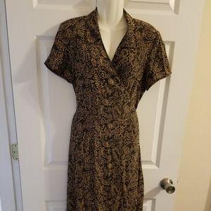 Emma James Vintage Women Wrap Dress Size 10